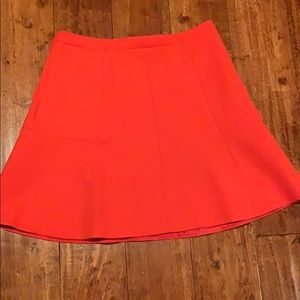 J. Crew Orange skirt size 2